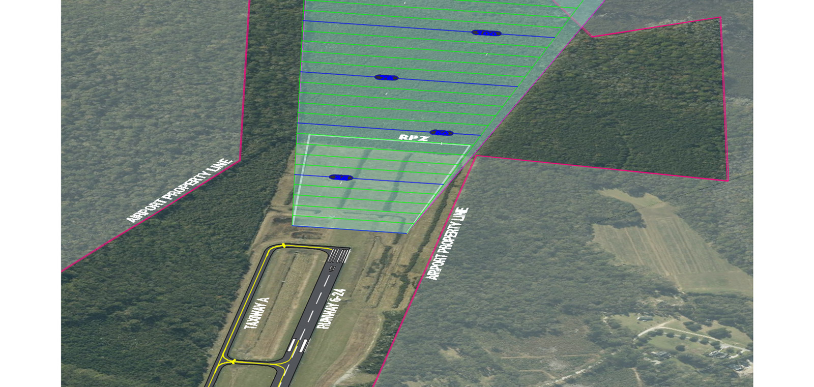 RUNWAY 6 APPROACH OBSTRUCTION REMOVAL SUMMERVILLE AIRPORT (DYB)