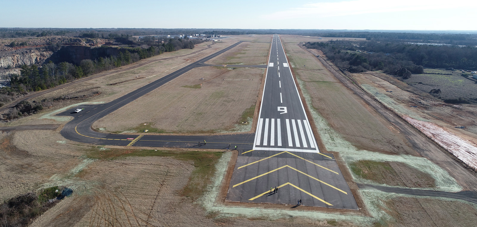 RUNWAY 9-27 REHABILITATION AND OVERLAY ATHENS-BEN EPPS AIRPORT (AHN)