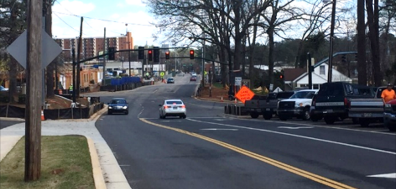 SANDY SPRINGS CITY CENTER ROADWAY IMPROVEMENTS