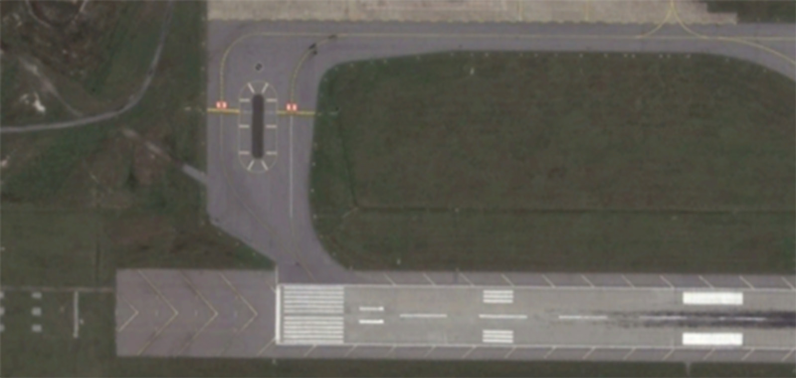 TAXIWAY A REHABILITATION (BEFORE) COLUMBIA METROPOLITAN AIRPORT (CAE)